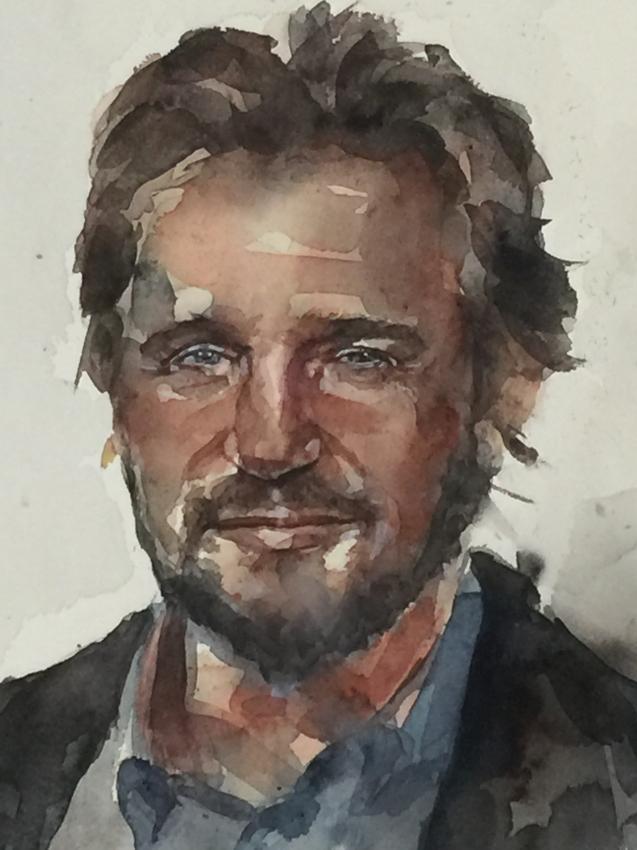 Liam Neeson by duguna
